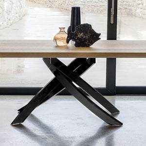 ANTARES TABLE - NATURAL OAK WOOD VENEER