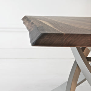 ANTARES TABLE - WALNUT SOLID WOOD