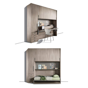 INTELLIGENT HOME OFFICE - HORIZONTAL TWIN - STORAGE