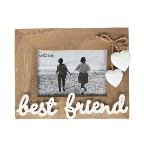 Best Friend Standing Wooden Photo Frame | Free UK Delivery