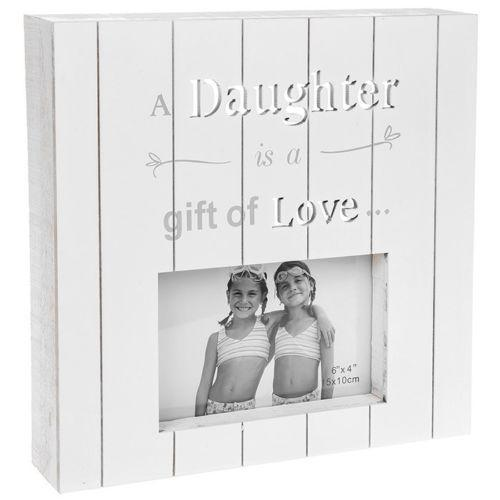 New England Photo Frame - Daughter | Free UK Delivery