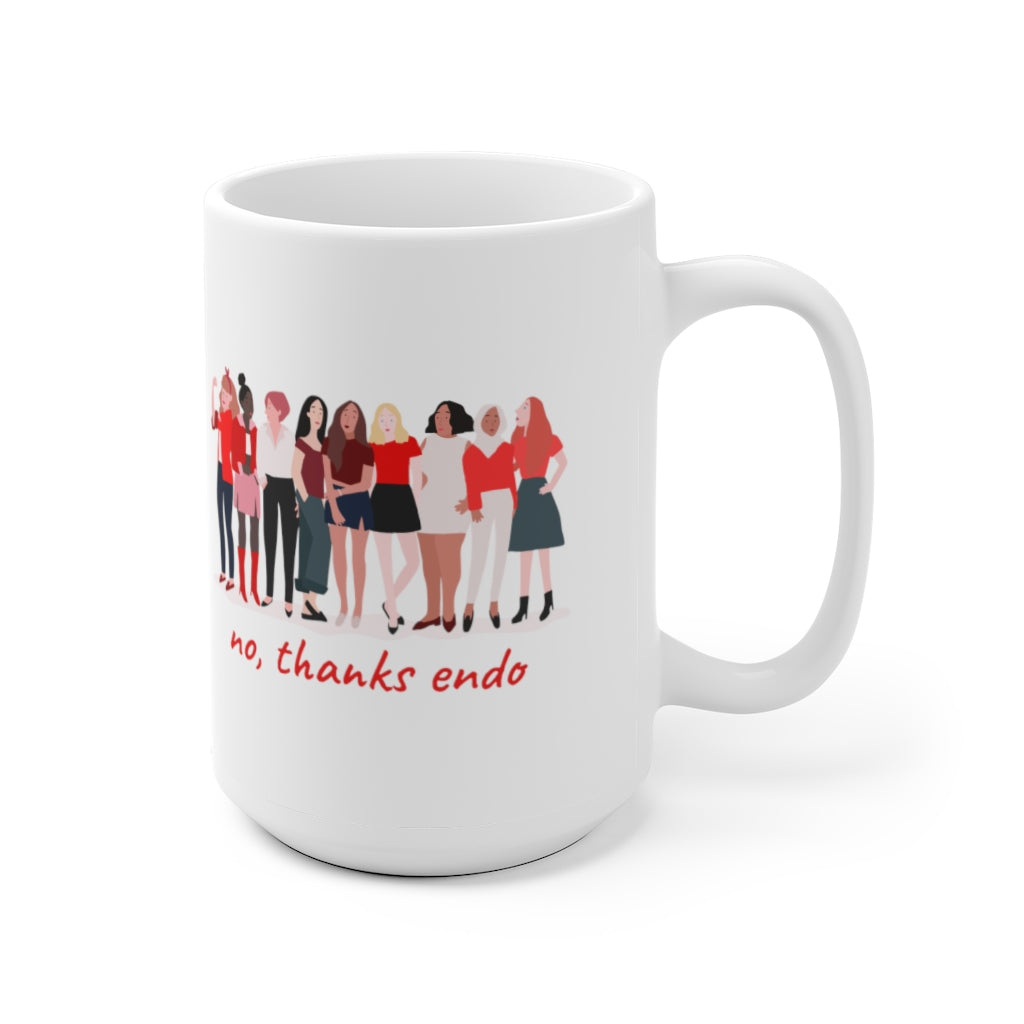 No, Thanks Endo Girl Power Mug