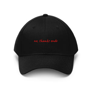 """No, Thanks Endo"" Cap"
