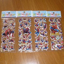 3D Cartoon Bubble Stickers 10pcs/lot - nativware.com