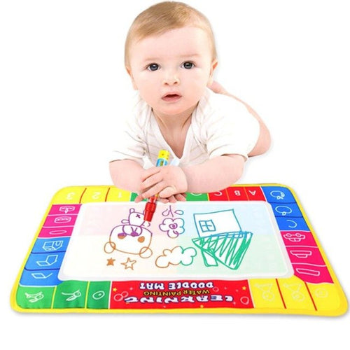 Children Water Drawing Painting Writing Mat Board & Magic Pen Doodle Toy - nativware.com