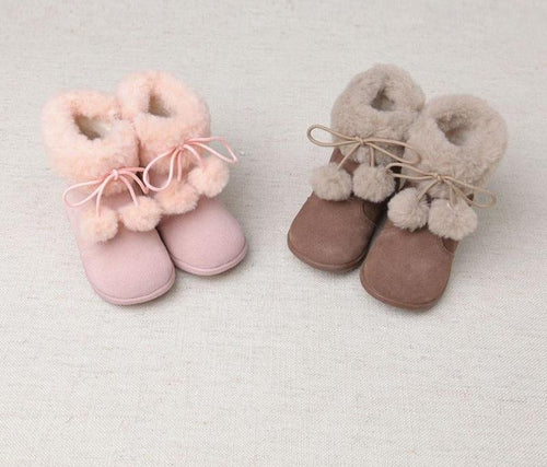 Beautiful winter baby girl boots fashionable children boots - nativware.com
