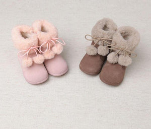 Copy of Beautiful winter baby girl boots fashionable children boots - nativware.com