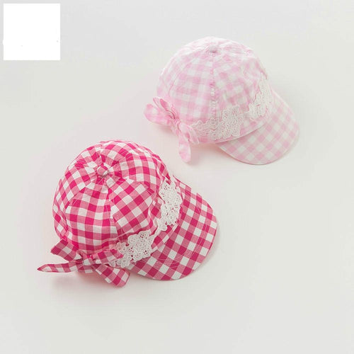 plaid caps baby girls hats - nativware.com