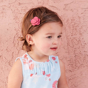 Elegant girls headwear flower barrettes - nativware.com