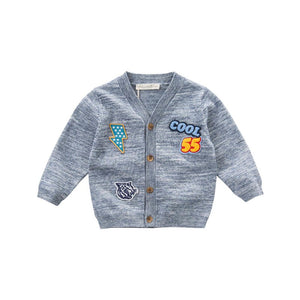 Cardigan for toddlers children's coats children's Trendy knitted sweater - nativware.com
