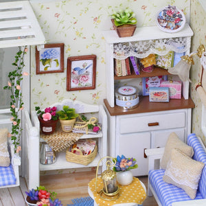 Furniture Diy Miniature Dust Cover 3D Wooden Doll House - nativware.com