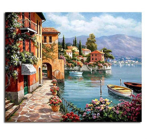 DIY Wall Art Acrylic Oil Canvas Paintings