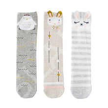 3 pair / lot children's 3D tube tube stockings cartoon animal - nativware.com