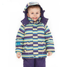 striped and printed jackets Kids clothing boys and girls ski jacket suit - nativware.com