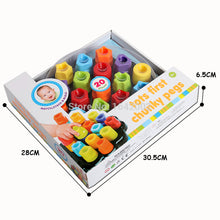 3D Puzzles Bricks Palace Toy  pegs Kits Educational  For Kids - nativware.com