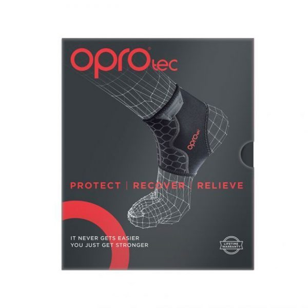 Ankle Support With Gripper OPROtec | Support | OPROtec