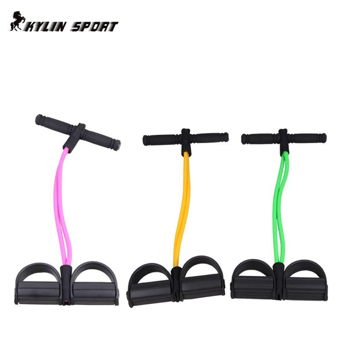 KYLIN Fitness Gear Rubber Leg Pull Straps