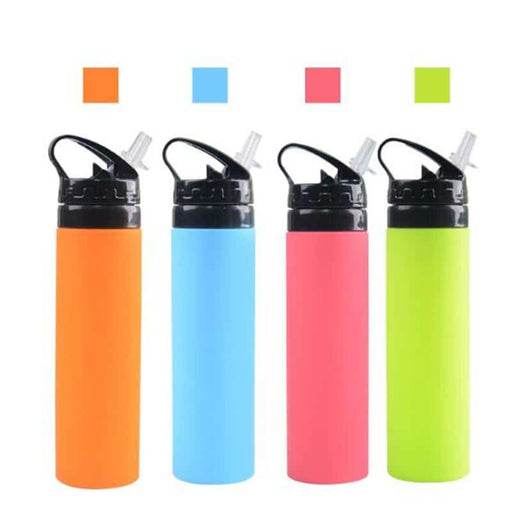 Sports 600ml Silicone Water Bottles Swifteria