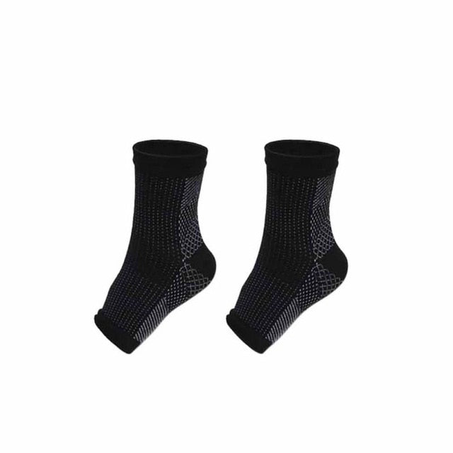 1pair Foot Compression Sleeve (Anti Plantar Support)