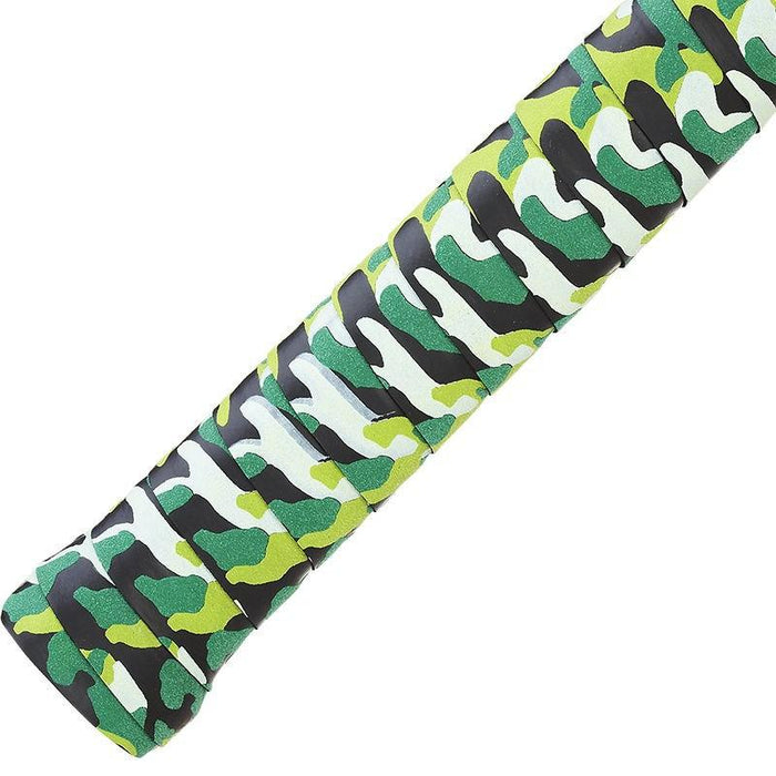 POWERTI 15pcs/lot PU Dry Camouflage Sweat Abrasive Tennis Racket Overgrip