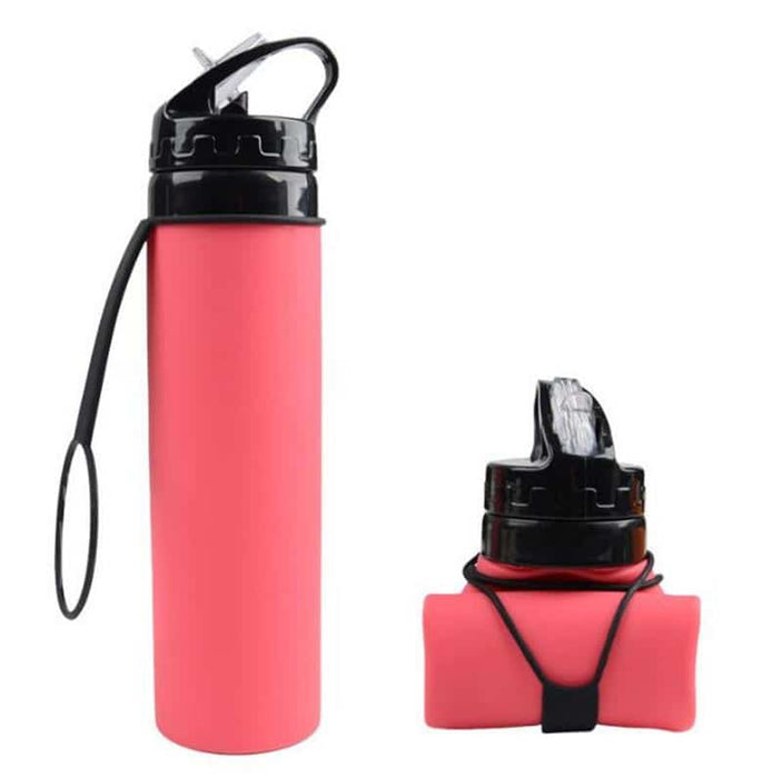 Sports 600ml Silicone Water Bottles | Silicone Water Bottle | Swifteria