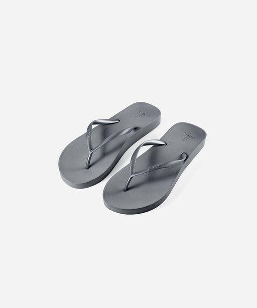 EEGO Women's Flip Flop, in Silver Swifteria