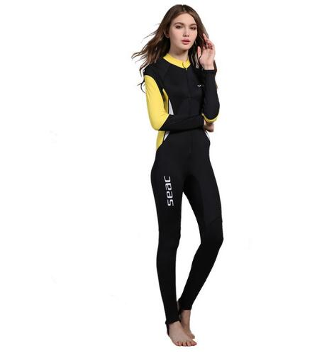 Women Wetsuits Swimwears Diving Suits