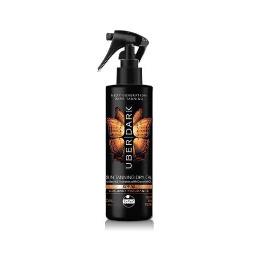 Uber Dark SPF30 Sun Tanning Dry Oil | Skin Care | Le Tan