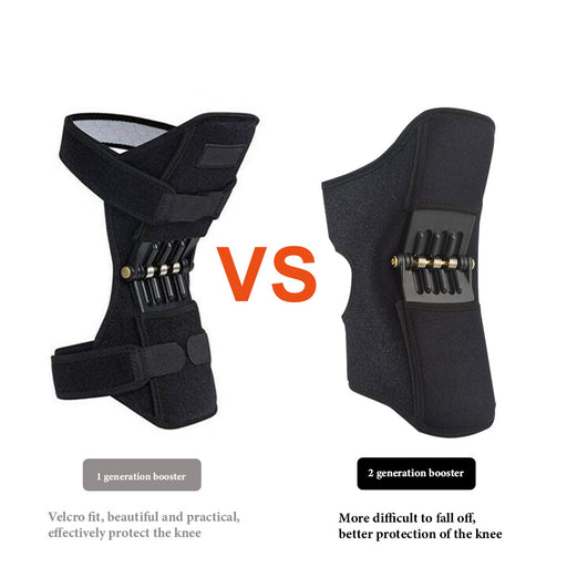Upgraded version knee joint support pads Breathable Non-slip power knee stabilizer pads Climbing body well spring Sport knee