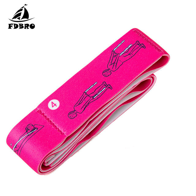 Elastic Bands for Fitness Pilates Yoga Stretch Latin Workout Training Sport Resistance Bands Exercise Equipment Pull Strap Belt