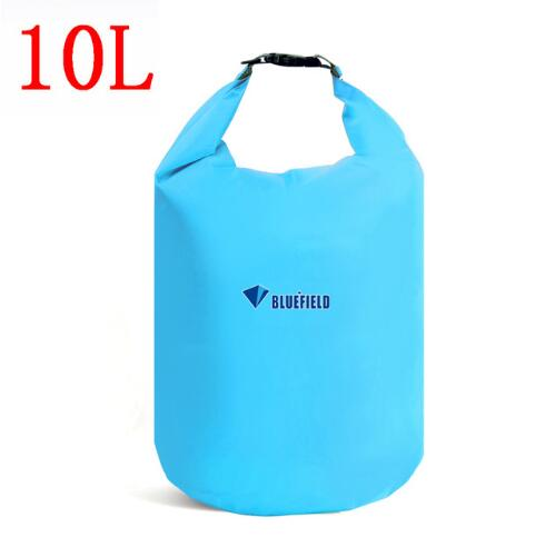 10L 20L Outdoor Swimming Waterproof Bag Camping Rafting Storage Dry Bag With Adjustable Strap Hook