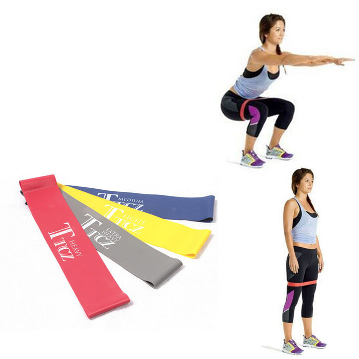 Exercise Resistance Loop Bands (Latex Resistance Bands)