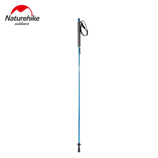 Naturehike Walking Stick Trekking Pole Self Adjustable Folding 4 Section Staight Grip Handle 130CM