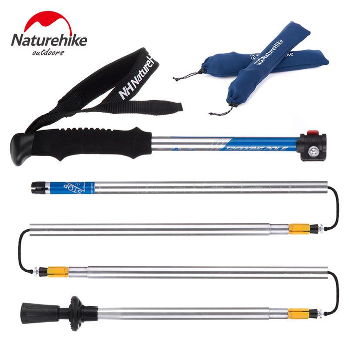 NatureHike Ultra-light EVA Handle 5-Section Adjustable
