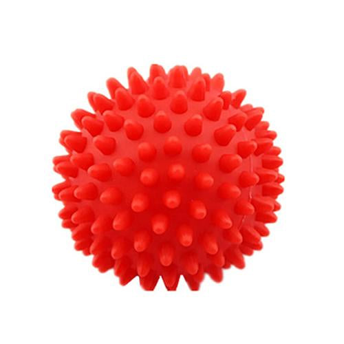 4 Colors 75mm Durable PVC Spiky Massage Ball