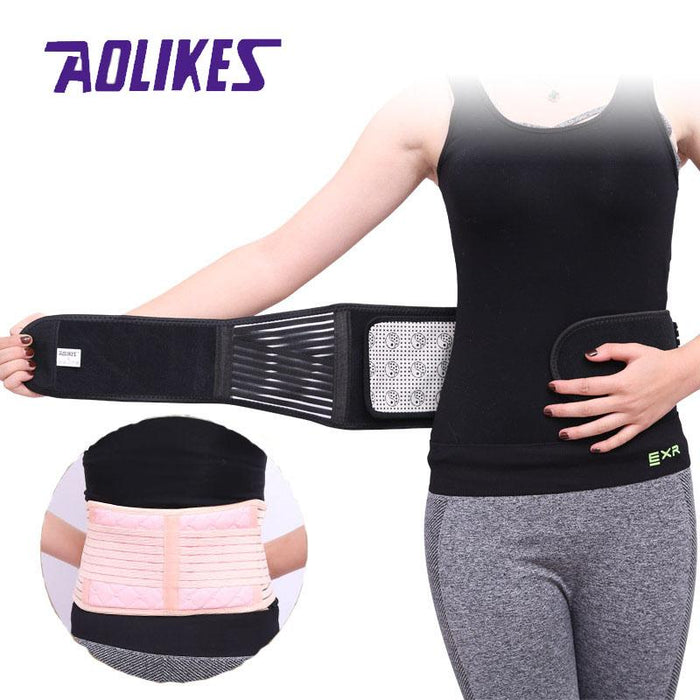 Aolikes Self-heating Magnetic Waist Back Support Belt