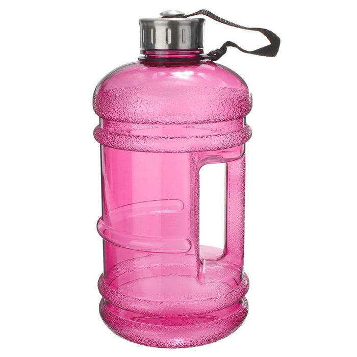 Portable 2.2L BPA Free Plastic Big Large Capacity Gym Sports Water Bottle