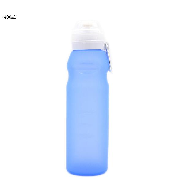 600ml Silicone Folding Water Bottle