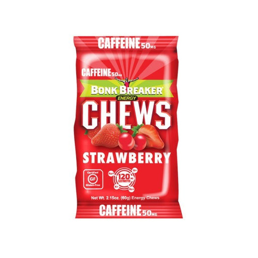 Bonk Breaker Strawberry Energy Chews (10pcs/Box) | Energy Chews | Bonk Breaker