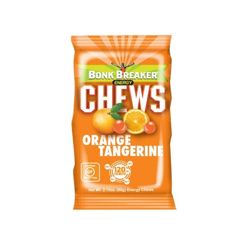 Bonk Breaker Energy Chews – Orange Tangerine (10pcs/Box) | Energy Chews | Bonk Breaker