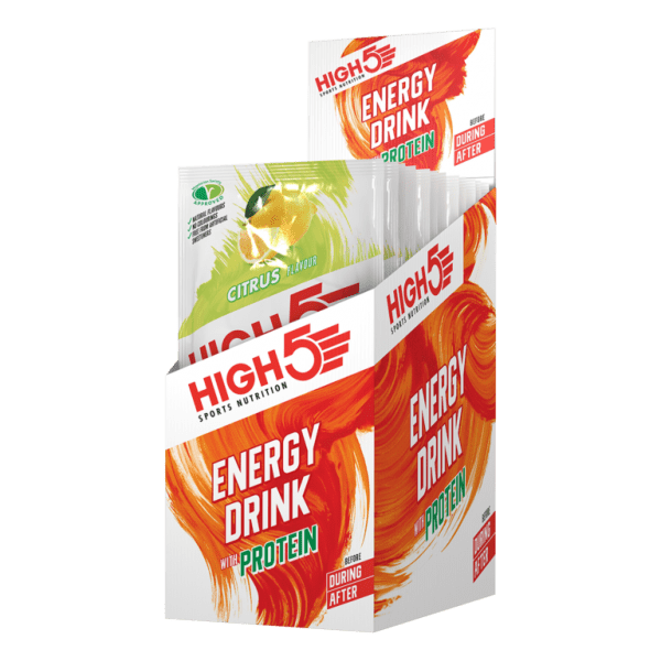 HIGH5 Energy Drink With Protein 12 Sachet Pack | Energy Drink | High5