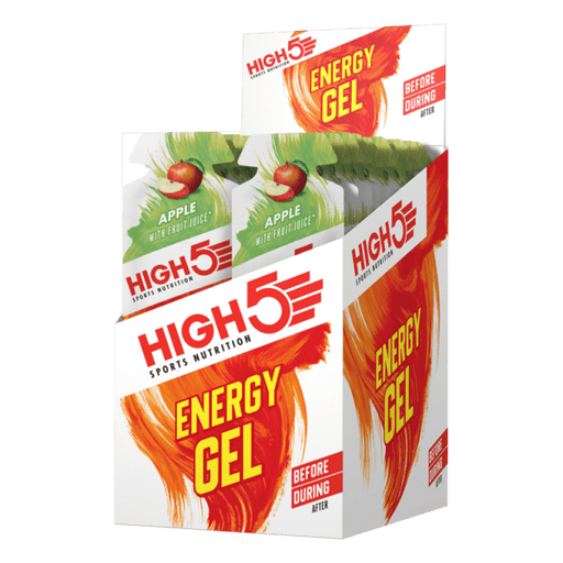 High5 Energy Gel Sachet (By box)-Apple (40g x 20 sachets) | Energy Gel | High5
