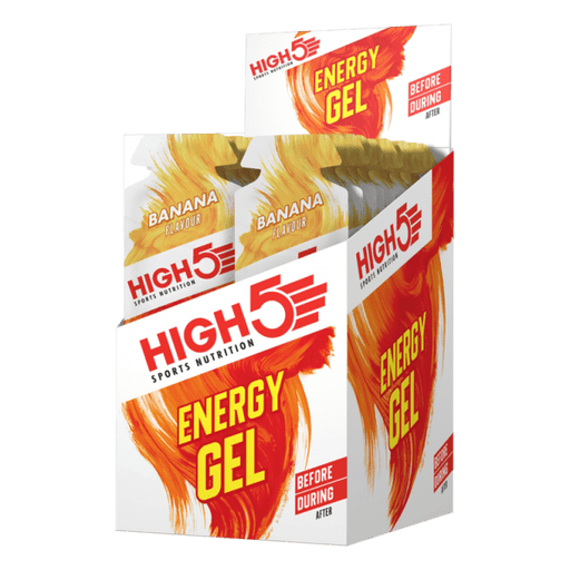 High5 Energy Gel Sachet (By box)-Banana (40g x 20 sachets) | Energy Gel | High5