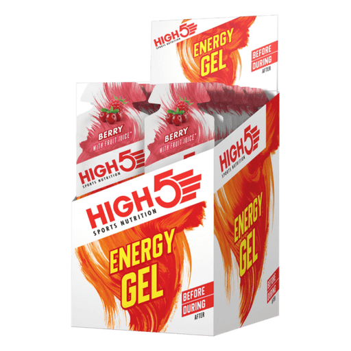 High5 Energy Gel Sachet (By box)-Berry (40g x 20 sachets) | Energy Gel | High5