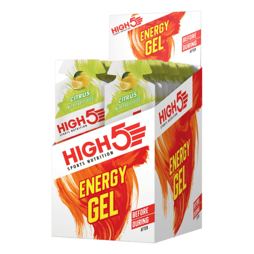 High5 Energy Gel Sachet (By box)-Citrus (40g x 20 sachets) | Energy Gel | High5