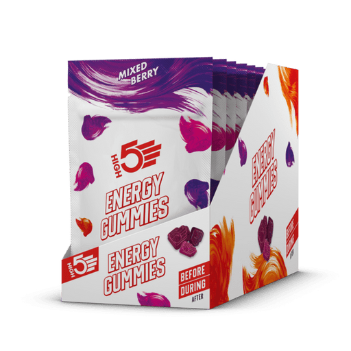 HIGH5 Energy Gummies Berry (10 Pack) | Energy Chews | High5