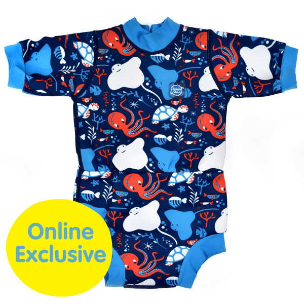 Happy Nappy™ Wetsuit Under The Sea | Swimming | Splash About