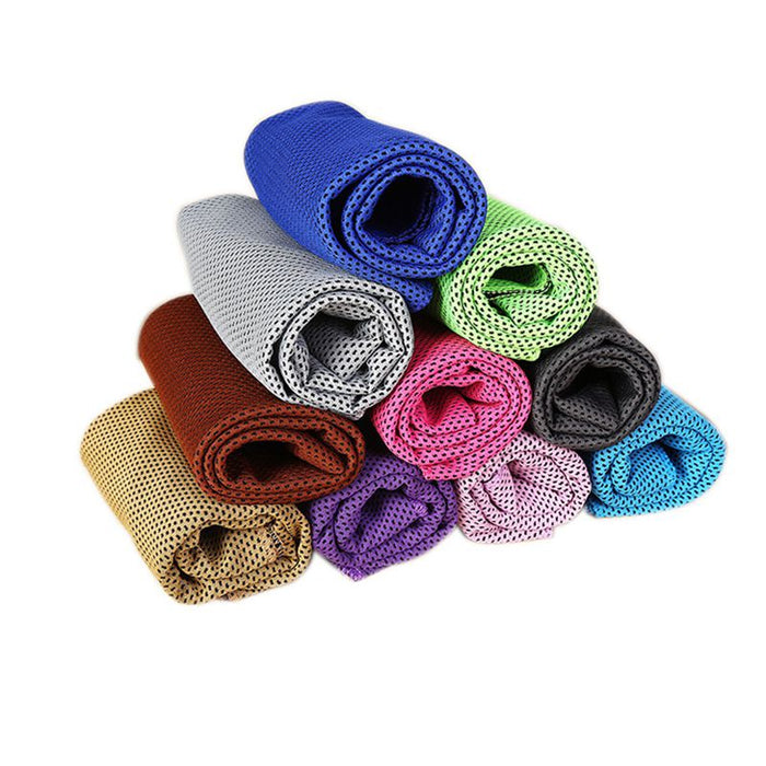 Ice Cold Enduring Running Jogging Gym Chilly Pad Instant Cooling Outdoor Sports Towel