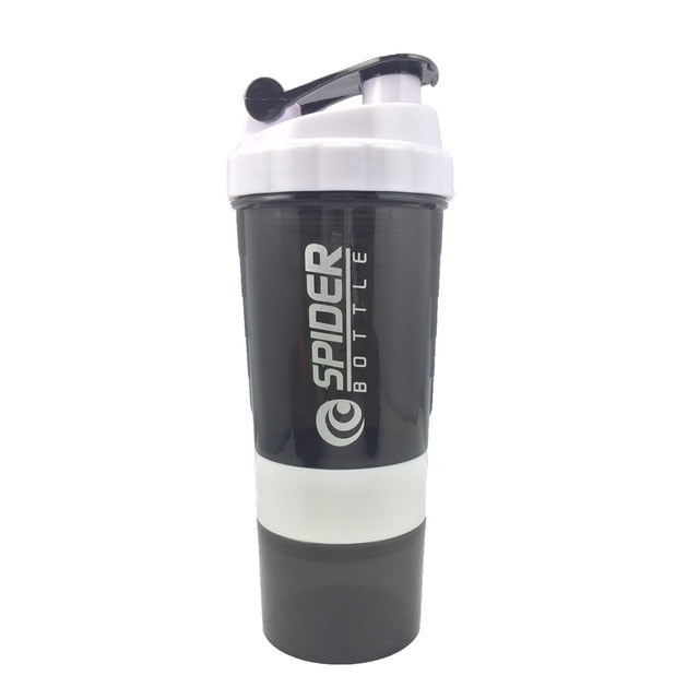 Sports Shaker Bottle with Three-layer