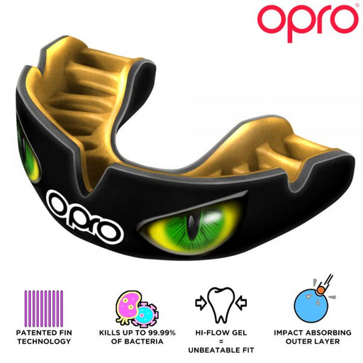Opro Power-Fit Aggression Eyes (Adult 10+) | Mouthguard | OproShield